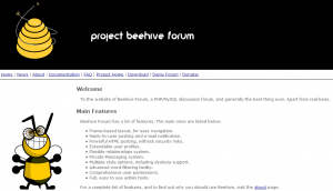 Beehive Forum Layout
