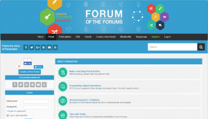 Forumotion Forum Layout