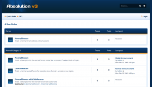 PhpBB forum layout