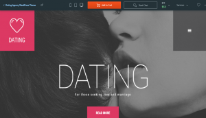DatingAgency Layout