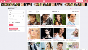 DatingPro Layout