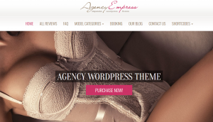 Escort Wordpress Theme Layout