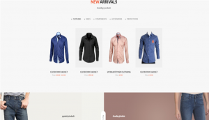 GoShop WordPress Store Theme Layout