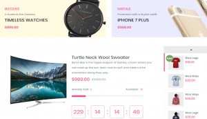 Happy Store WordPress Theme Layout