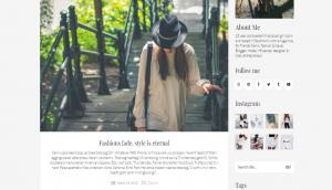 KaliumBlogging Layout