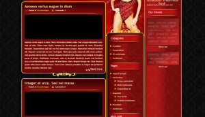 LadyinRed Layout