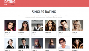 Love Romance Wordpress Theme Layout