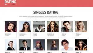 Love Romance Wordpress Theme Layout