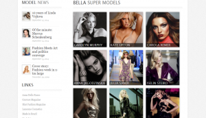 ModelAgency Layout