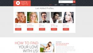 Online Romance Layout