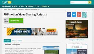 PHPMotionVideoSharingScript Layout