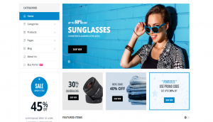 Porto WordPress Store Theme Layout