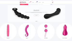 PrestaShop Dreams Adult Store Template