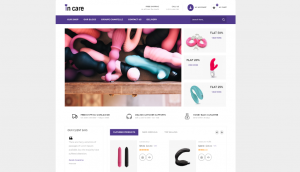 PrestaShop Incare Adult Store Template