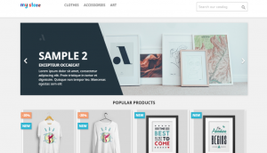 PrestaShop Store Layout