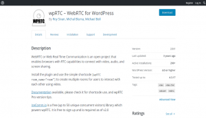 wpRTC Layout