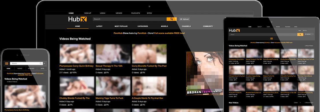 Pornhub Clone Script