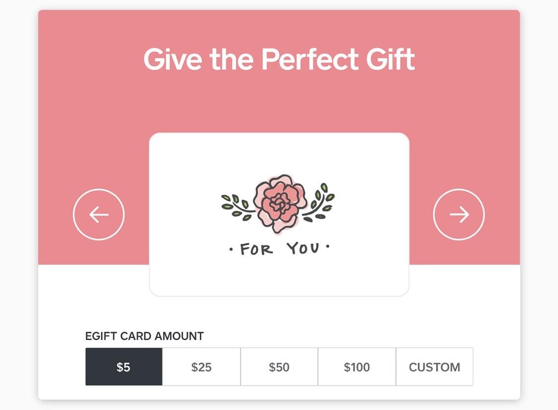 Digital Gifting